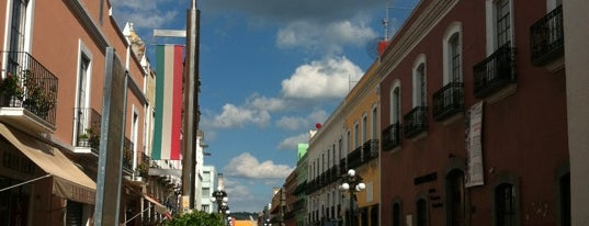Calle de los Dulces is one of Puebla.