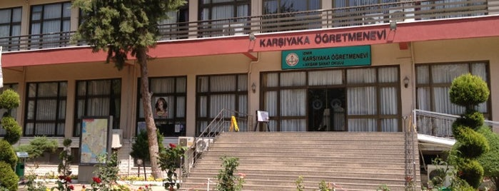 Karşıyaka Öğretmenevi is one of Levent 님이 좋아한 장소.