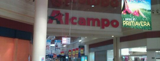 Alcampo is one of Ofertas en centros comerciales.