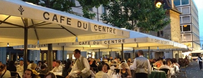 Café du Centre is one of Foodie places in Geneva area.