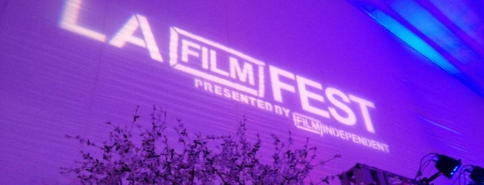 Los Angeles Film Festival is one of Los Angeles.