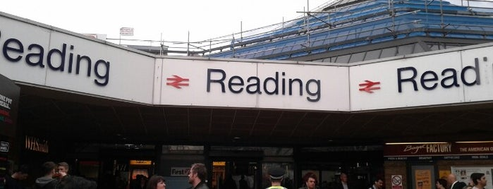 Reading Railway Station (RDG) is one of You calling me a train spotter?.