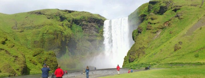 Skógafoss is one of Scandinavia & the Nordics.