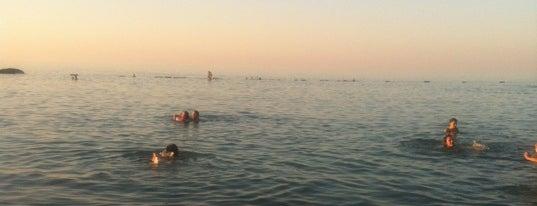 Yalıncak Plajı is one of Orte, die Gürkan gefallen.