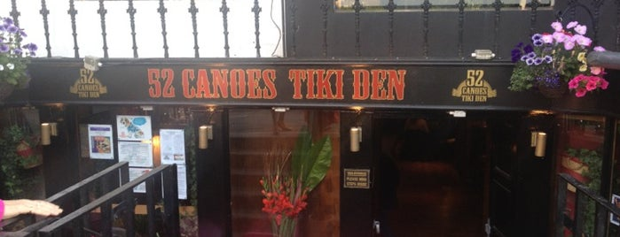 52 Canoes Tiki Den is one of Eniseさんの保存済みスポット.