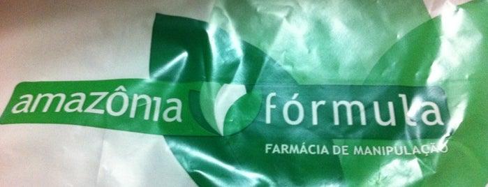 Amazônia Fórmula & Manipulação is one of Tempat yang Disukai Amanda.
