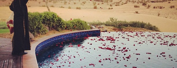 Al Maha Desert Resort & Spa is one of The Dog's Bollocks' Dubai.
