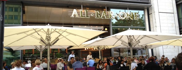 ALL BAR ONE is one of Cologne Startup Hot-Spots.