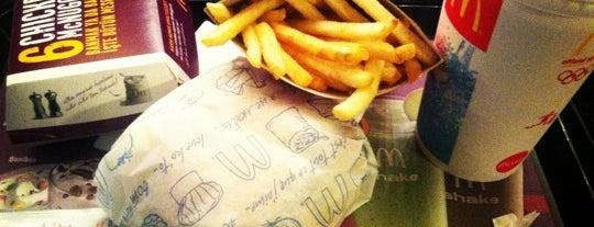 McDonald's is one of Locais curtidos por Irmak.