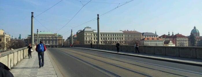Mánes-Brücke is one of StorefrontSticker #4sqCities: Prague.