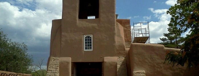 San Miguel Mission is one of Historic Route 66.
