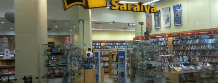Livraria Saraiva is one of Carlosさんの保存済みスポット.