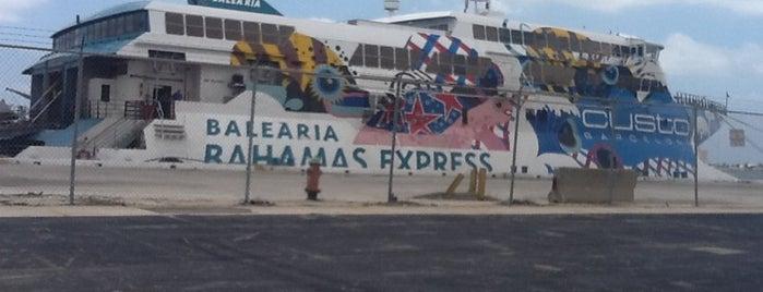 Bahamas Express Baleària is one of Lieux qui ont plu à Michael.