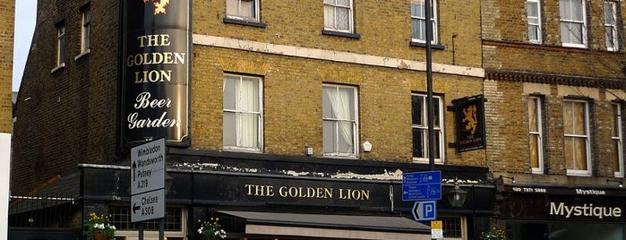The Golden Lion is one of England.