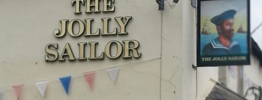 The Jolly Sailor is one of Lieux qui ont plu à Carl.