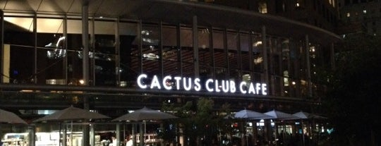 Cactus Club Cafe is one of Vancouver Restaurants.