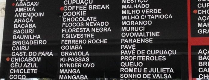 Sorveteria Cairu is one of Belém - Comer e beber bem.
