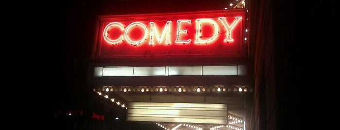 Comedy Theatre is one of Melbourne sights.