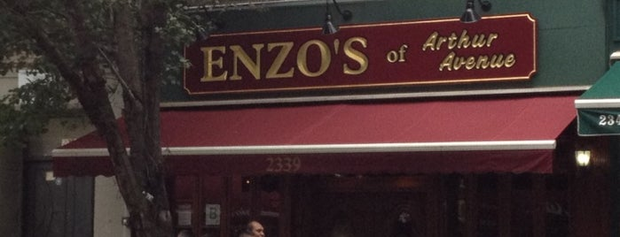 Enzo's is one of Nolfo Westchester NY Foodie List.
