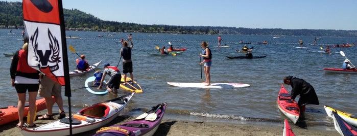 Lake Sammamish State Park is one of Seattle, WA.