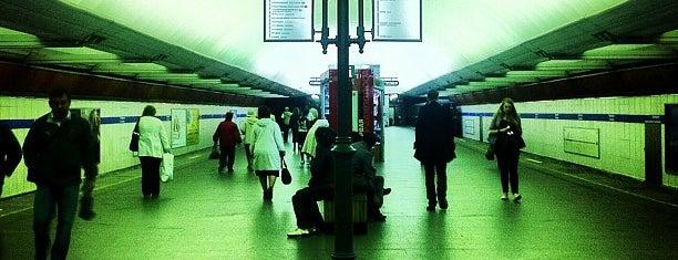 metro Pionerskaya is one of Топ Лист мест от Жданова Саньки.