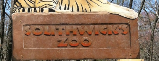 Southwick's Zoo is one of My Favorites.