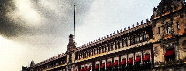 Palacio Nacional is one of MEXICO.