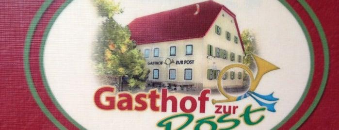 Gasthof Zur Post is one of Biergarten.