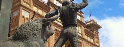 Plaza de Toros de Las Ventas is one of Places we went to in Madrid and Barcelona.