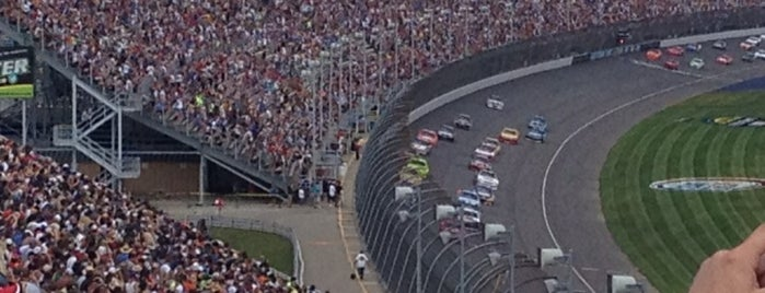 Michigan International Speedway Infield is one of My NASCAR.