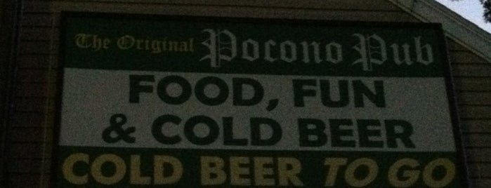 Original Pocono Pub is one of Tempat yang Disukai The Traveler.