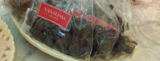 Vasalissa Chocolatier is one of 4 heladerías de barrio imperdibles.