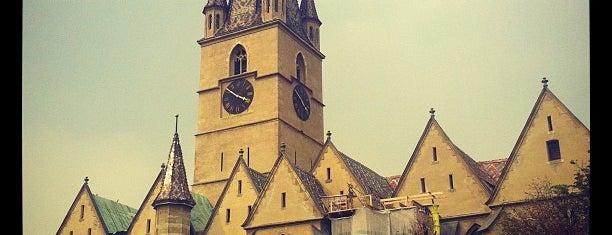 Catedrala Evanghelică is one of Romania 2014.