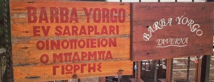 Barba Yorgo is one of yenilesii.