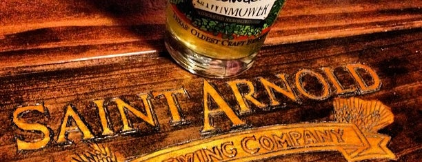 Saint Arnold Brewing Company is one of Texas Located.