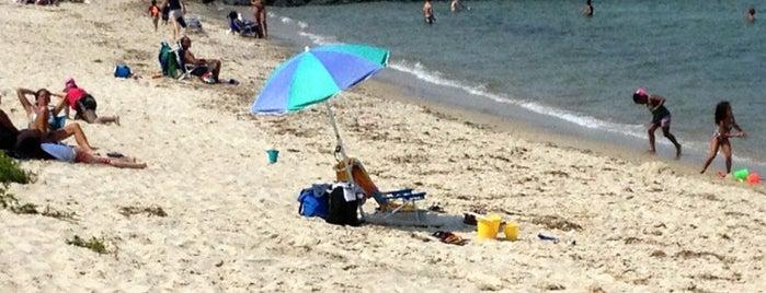 Oak Bluffs Town Beach is one of MV with laz.