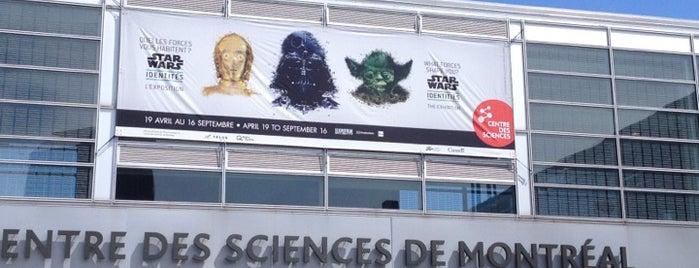 Centre des sciences de Montréal is one of Musées Montréalais.