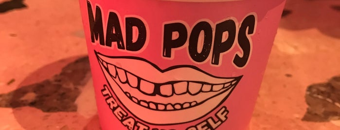 Mad Pops is one of Locais curtidos por Matvey.
