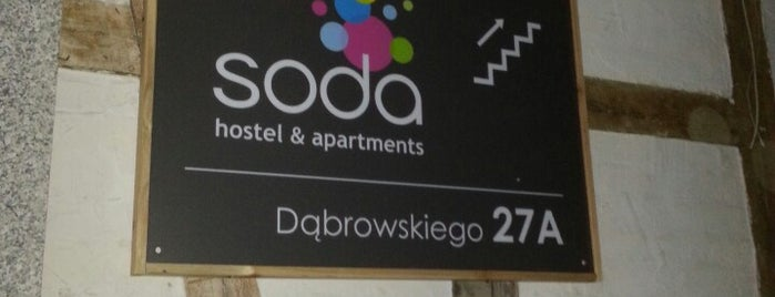 Soda hostel - magic place is one of Poznań been.