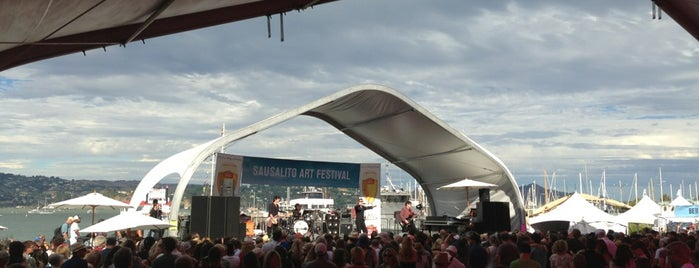 Sausalito Art Festival is one of Arthur's places to visit.