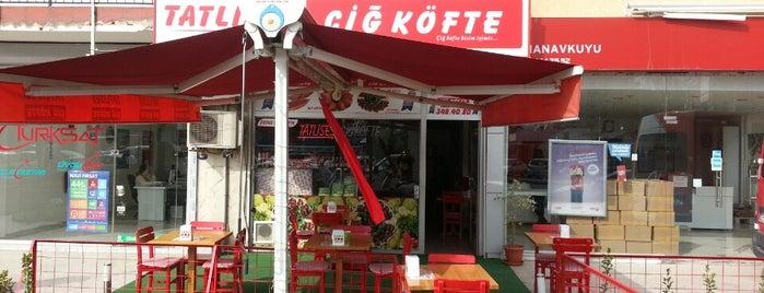 Tatlıses Çiğ Köfte is one of สถานที่ที่บันทึกไว้ของ Emre.