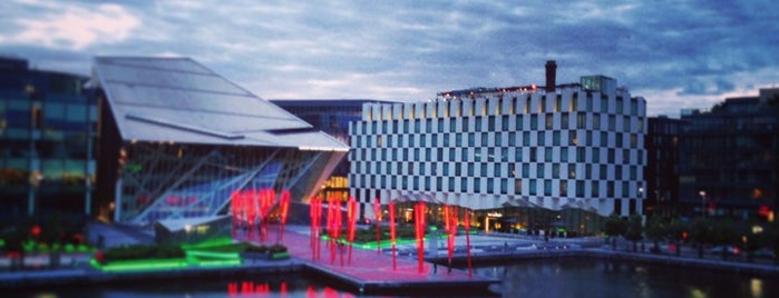 Grand Canal Dock is one of Dublin Essentials for PaperPaper.ru.