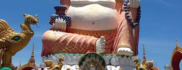 Wat Plai Laem is one of Samui.