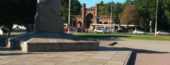 Площадь Маршала Василевского is one of Orte, die A gefallen.