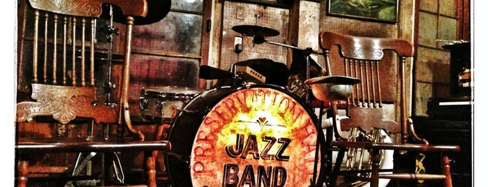 Preservation Hall is one of Nawlins.