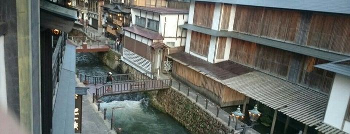 旅館松本 is one of 銀山温泉.