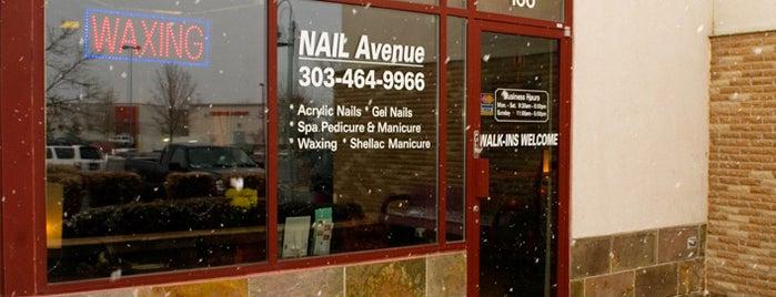Nail Avenue is one of Jordan : понравившиеся места.