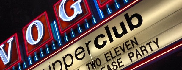 Supperclub is one of Night Club & Lounge & Pub.