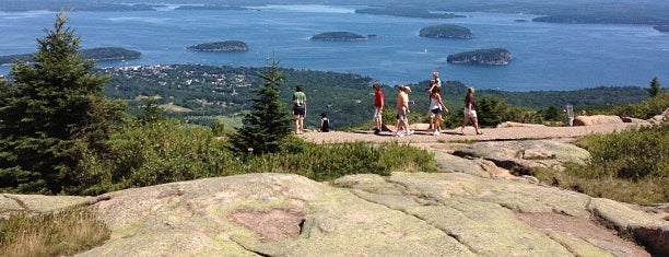 Cadillac Mountain is one of Maine.