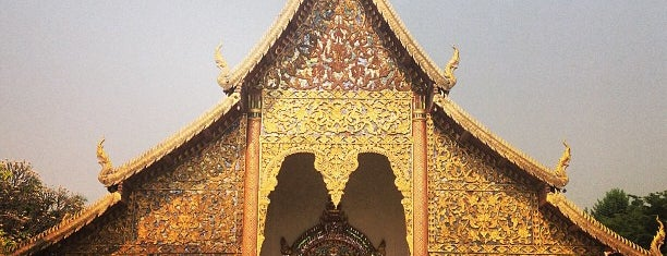 Wat Chiang Man is one of Thailand.